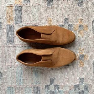 Jeffrey Campbell suede oxford booties 8.5